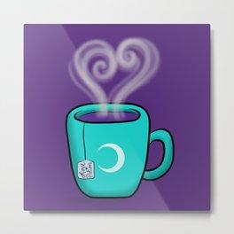 Love Potion Tea - MOON GODDESS Metal Print