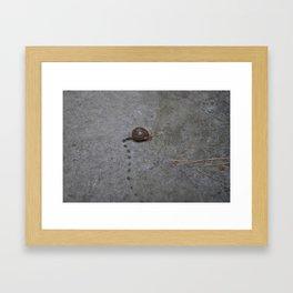 Marcel Running Framed Art Print