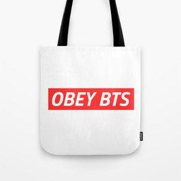 OBEY BTS Tote Bag