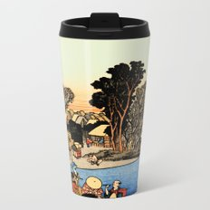 Kawasaki on the Tokaido Road Metal Travel Mug