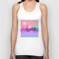 chicago bulls Tank Tops featuring chicago by Bekim ART