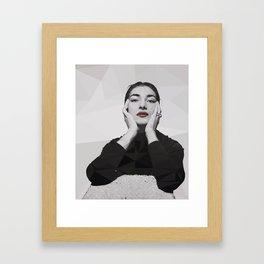 Geometric Callas Framed Art Print