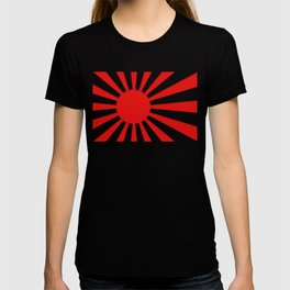 Rising Sun Flag in 3D T-shirt