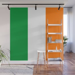 The National Flag Of Couthern Ireland Eire Wall Mural