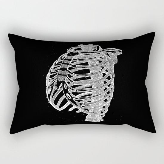 Ribcage Rectangular Pillow