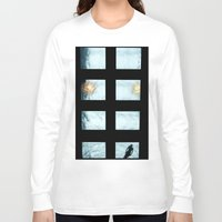 pool Long Sleeve T-shirts featuring Ceiling pool by nast