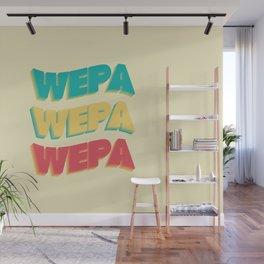 Wepa Wepa Wepa Wall Mural
