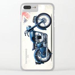 The 1952 Thunderbird Clear iPhone Case