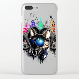Drop The Bass Clear iPhone Case