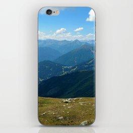 panorama on adventure park hög alps serfaus fiss ladis tyrol austria europe iPhone Skin