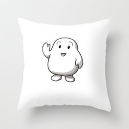 Working my adipose off Throw Pillow