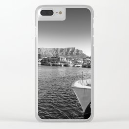 Victoria and Alfred Waterfront in Cape Town, South Africa Clear iPhone Case