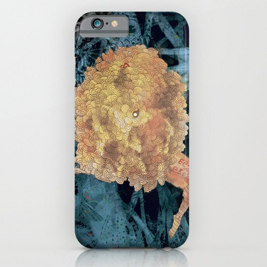 Something on Her mind.. iPhone & iPod Case