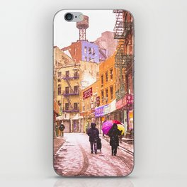 The Colors of Winter - New York City iPhone Skin