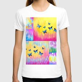 Rainbow Butterflies T-shirt