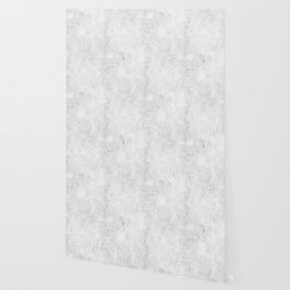 White Light Gray Concrete Wallpaper