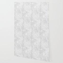 White Light Gray Concrete Wallpaper
