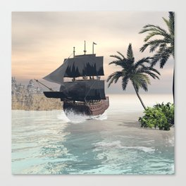 Fantastic seascape Canvas Print
