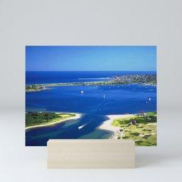 Great Salt Pond, Block Island, Rhode Island Mini Art Print