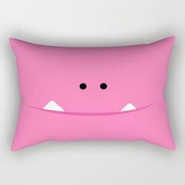 """Brillo """"El Monstrillo"""" Rectangular Pillow"""