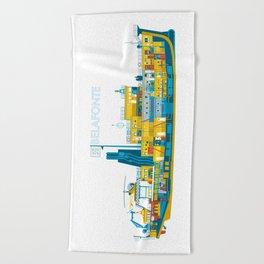 BELAFONTE - The Life Aquatic with Steve Zissou Beach Towel