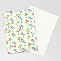 Flamingo Palms Stationery Cards