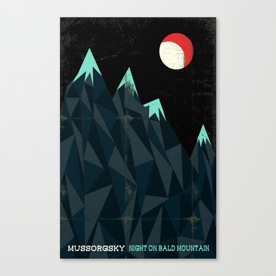 Night on Bald Mountain - Mussorgsky Canvas Print