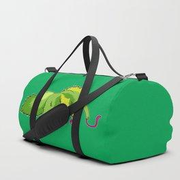Neon Giant Anteater Duffle Bag
