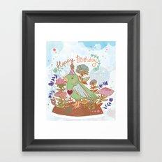 Happy Birthday! Framed Art Print