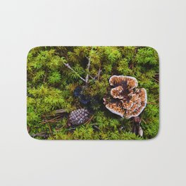 Understory of an Old Growth Lodgepole Pine Forest in Jasper National Park, Canada Bath Mat
