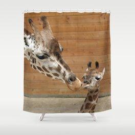 Giraffe 002 Shower Curtain