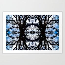 Treeflection III Art Print