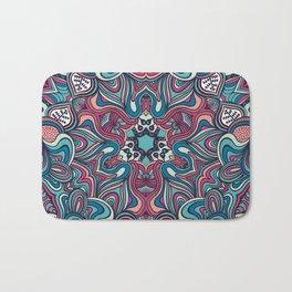psychedelic ornament Bath Mat