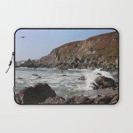 Bodega Bay Beach, Sonoma County, California Laptop Sleeve