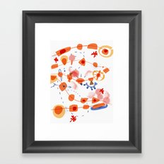 connected | The true nature of life: We are all connected, lets not forget Framed Art Print