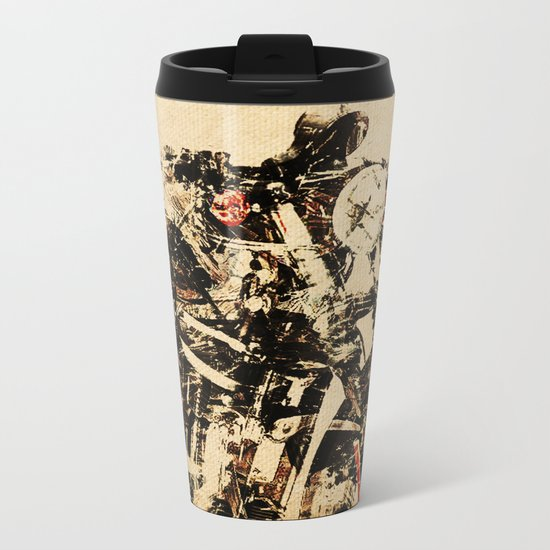 Magnetic Metal Travel Mug