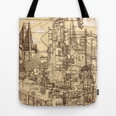 San Francisco! (Dusty) Tote Bag