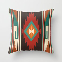 American Native Pattern No. 32 Throw Pillow