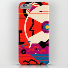 Fantasy Tour of Mars iPhone Case