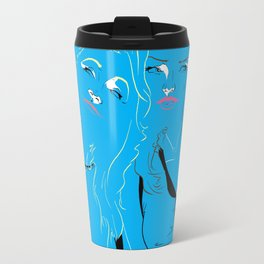 Blue Girls Travel Mug
