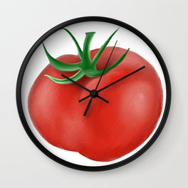 Red Tomato  Wall Clock