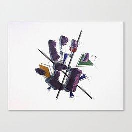 El Ataque (IV) Canvas Print