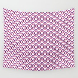 Ribbon Seamless Pattern Art Wall Tapestry