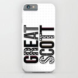 great scott iPhone Case