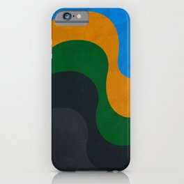 Copacabana - From concrete to the sea iPhone Case