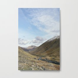 Brothers Water and the Kirkstone Pass. Cumbria, UK. Metal Print