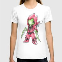 projectrocket T-shirts featuring The Deadliest Ninja Warrior by Randy C