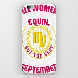 Best-Women-Born-In-September-Virgo---Sao-chép iPhone Skin