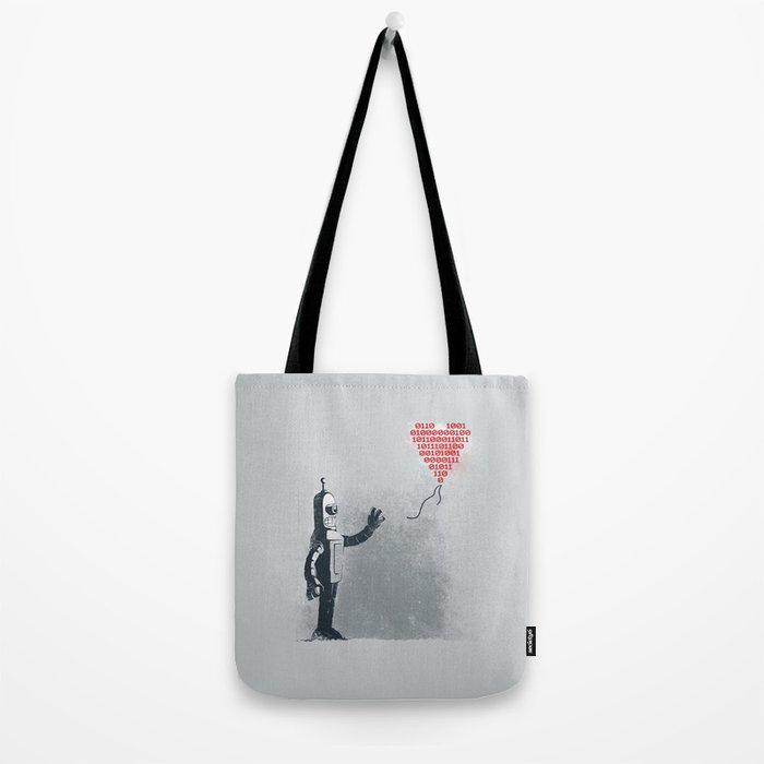 Binary Art Tote Bag