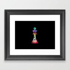 SPACE KING Framed Art Print